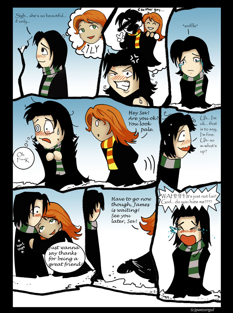 Snape s wish by panzergal