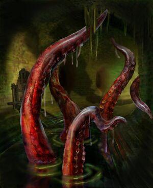 Creatures-Monster tentacles