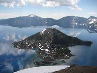 Wizard island crater lake 5
