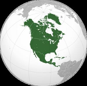 Location North America