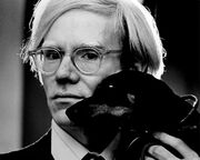 Andy Warhol by Jack Mitchell