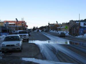 Main Street Alma Colorado