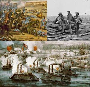 American Civil War Montage