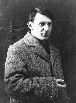 Portrait of Pablo Picasso, 1908-1909, anonymous photographer, Musée Picasso, Paris