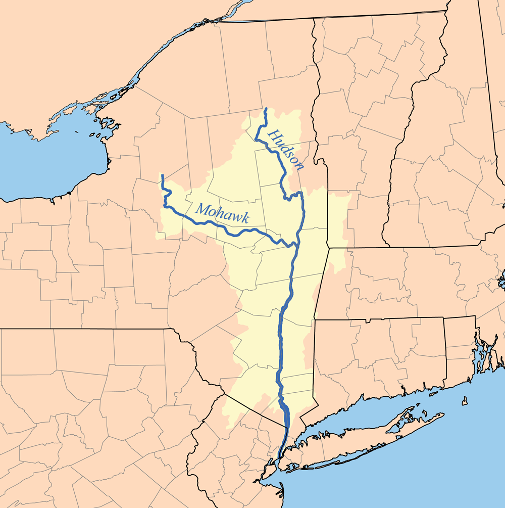hudsonmap hudson river watershed map . hudson river  deathlands wiki  fandom powered by wikia