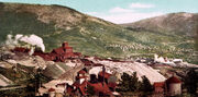 Battle Mountain mines, Cripple Creek, Colorado, ca 1898