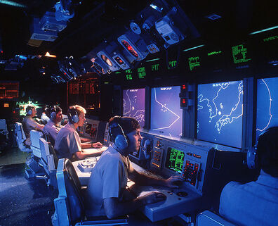 741px-USS Vincennes (CG-49) Aegis large screen displays