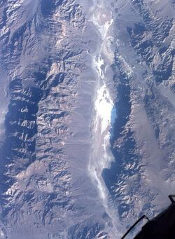 Death Valley from space