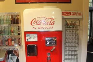 Coca Cola Bottling Machine, Biedenharn Museum and Gardens IMG 4101