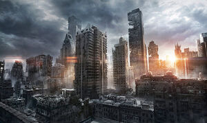 New York Ruins by JonasDeRo