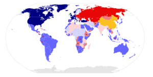 Cold War Map 1980