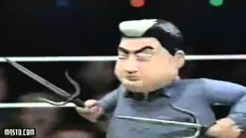 Celebrity Deathmatch Dennis Franz vs Sammo Hung