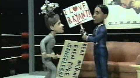 Celebrity Deathmatch - Bryant Gumbel vs. Katie Couric