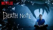 Netflix title card Light shinigami hand