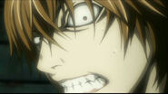 Annoyed Light Yagami