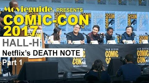 Netflix Death Note Panel at SDCC 2017