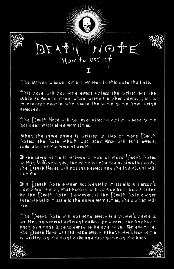 Death Note Episodenguide