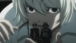image death note 34 near and finger puppets jpg death note wiki
