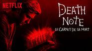 Netflix title card Light red