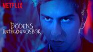 Netflix title card Light blue