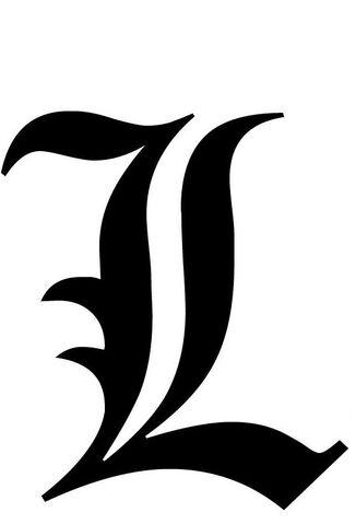 image - old english l | death note wiki | fandom poweredwikia