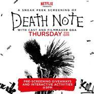 Netflix Death Note SDCC sneak peek screening
