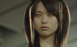Ojos de shinigami en la pelicula