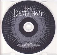 Sound of Death Note disc