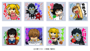 LINE stickers Japanese