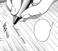 Mikami makes deletion