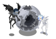 LINE Play Ryuk and Rem