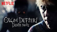 Netflix title card Ryuk behind Light