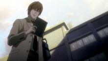 AO1 Light Yagami znajduje Notatnik Śmierci