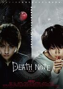 Death Note 2006 poster with small print