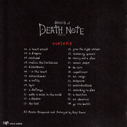 Sound of Death Note contents
