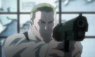 Rester aiming gun