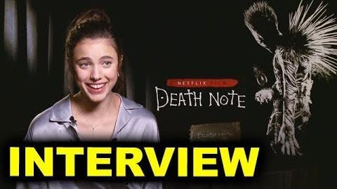 Netflix interview Margaret Qualley