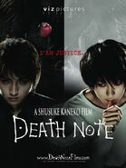 Death Note 2006 Viz poster Light and L