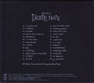 Sound of Death Note case back