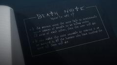 Death Note - Como Usarla (Reglas Falsas)