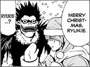 Christmas Light and Ryuk