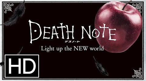 Death Note LNW subtitled trailer