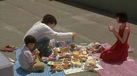 L has picnic with Maki and Near