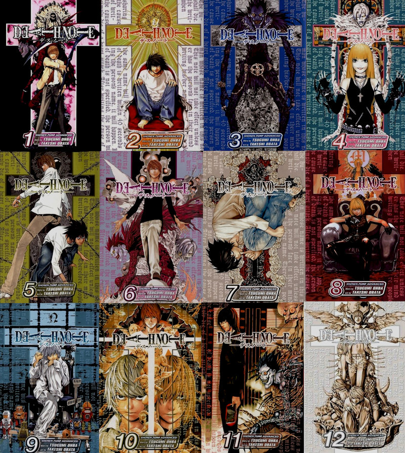 Image result for death note manga series