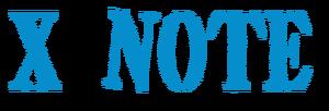 X Note Logo
