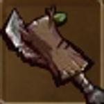 Log sword