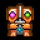 Sprite item relic idol three gem