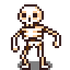Sprite entities foe skeleton 01
