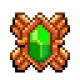 Sprite item relic emerald warding stone