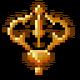 Sprite item relic gold vajra